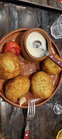 Колдуны картофельные с мясом