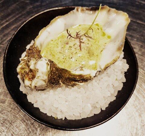 Spizzicando da [cà-ri-co] Ostrica marinata.