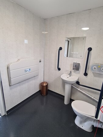 Disabled toilet / baby changing room