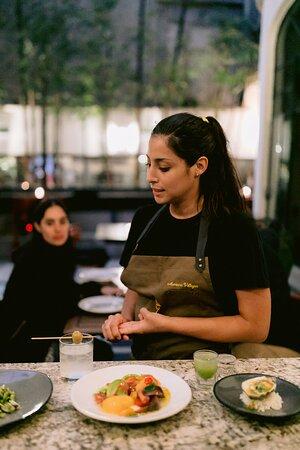 OKUPA LA COCINA DE BROKA CON MARIANA VILLEGAS Próximamente el cuarto capítulo con un súper chef invitado. Reservas vía whatsapp +52 55 8425 6533
