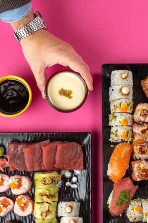 I nostri Poke e Sushi dell'Amore