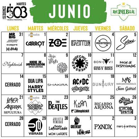 El Salvador: Nuestro mes de Junio ya disponible para comprar en www.republikbar.com/shop   -------------------------------------------------------------------  The month of June available to make reservations thru: www.republikbar.com/shop
