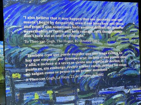 Can Gogh immersive experience miami