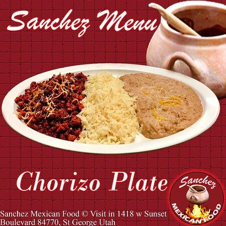 Chorizo Plate