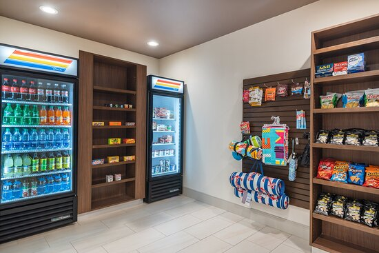 Our sundry shop offers plenty of snacks and drinks 24 hours.