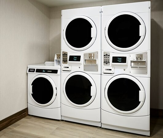 Catch up on any laundry while you stay with 24 hour access