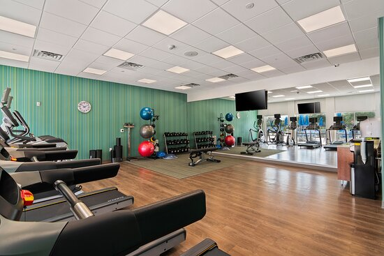 Our state-of-the-art fitness center has everything you need.