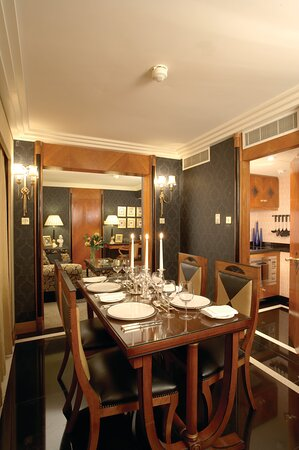 Dining room in a Suite