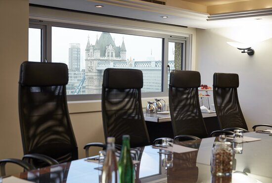 The Fearless meeting room provides a slick setting for business