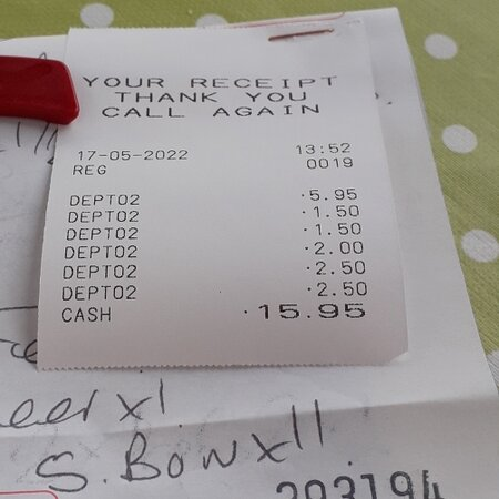 Lunchtime Bill