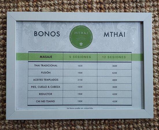 Nuestros bonos