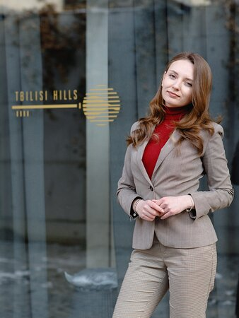 Tbilisi Hills Restaurant Manager Irina Rasputina