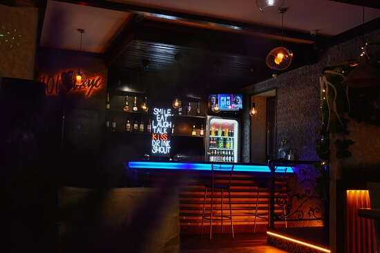Our bar is always open for you, where you can sit at any time and have a glass ofsomething delicious