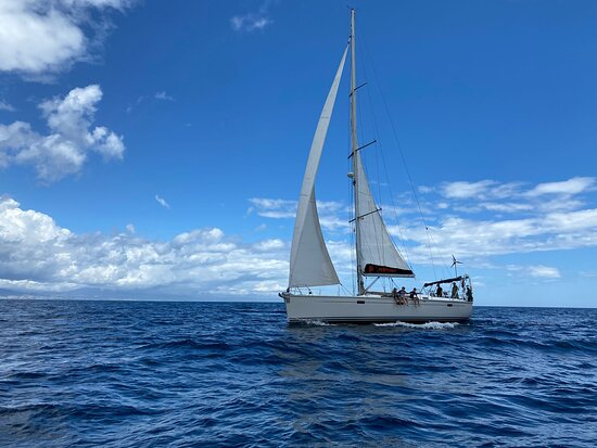 Sailing with our 47 Hanse Yacht in the Strait of Gibraltar