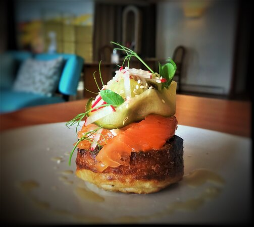 Smoked Trout Crumpet