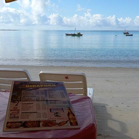 E essa vista linda da Cabana uirapuru! 😍🌊