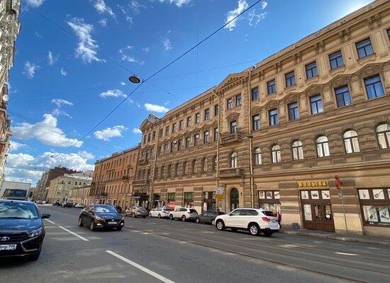 Дом В. Н. фон Дервиз (левая часть)