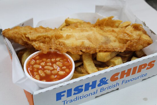 Mini fish Chips and Sauce