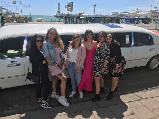 Party girls from Brighton today