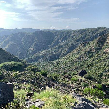Berbera, Somalia: Somaliland highway 2 climbing  to the sheikh mountains