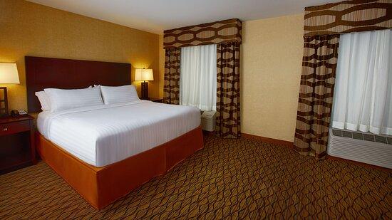 Guest Room at Holiday Inn Express Bordentown-Trenton South