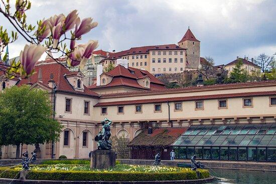 Lobkowicz Palace from Wallenstein Garden