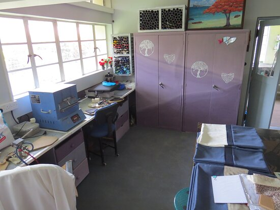 inside of the workshop