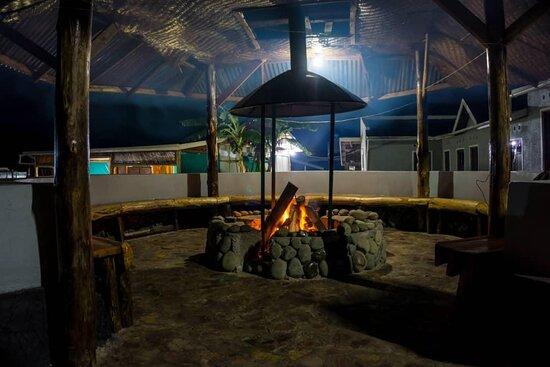 Kisoro, Uganda: Fire Place