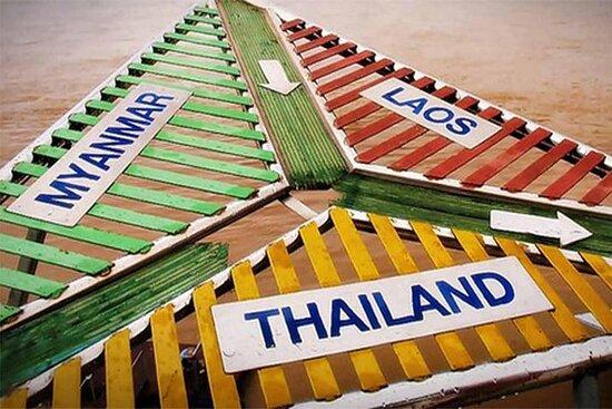 Tour in moto di 3 giorni (magico triangolo d'oro) da Chiang Mai