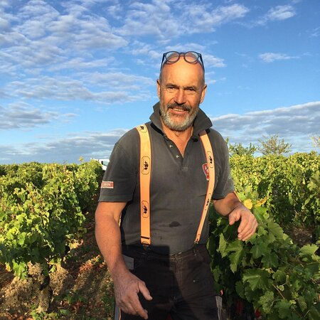 Noizay, France: Philippe Chigard, a natural wine maker and leader when it comes to biodiversity. He has his own vineyards and works the vineyards of many of the top grower using his team of 6 beautiful horses.