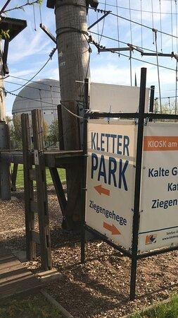 Kletterpark Magdeburg lanový park Magdeburg