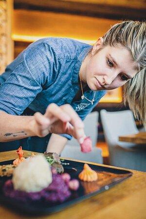 Restaurant Margarethenstein. Magdalena Junior Chefin. Leidenschaftliche Köchin