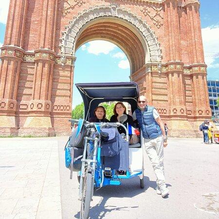 Visiter Barcelone en rickshaw