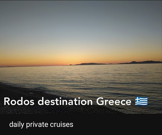 Rhodes, Greece: Daily private cruises we lunch on the boat