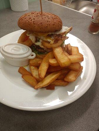 Chateaubriant, France: Burger burger