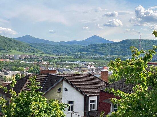 Usti nad Labem, Czech Republic: Milešovka a Lovoš