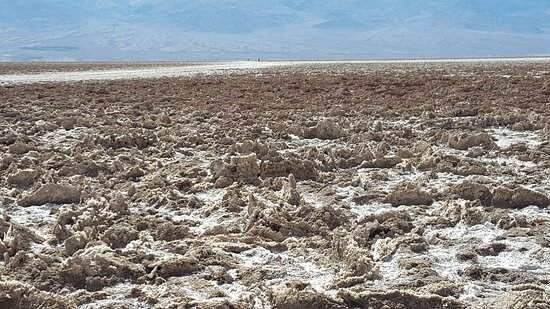 Death Valley National Park, CA: Hardened Salt Crystals