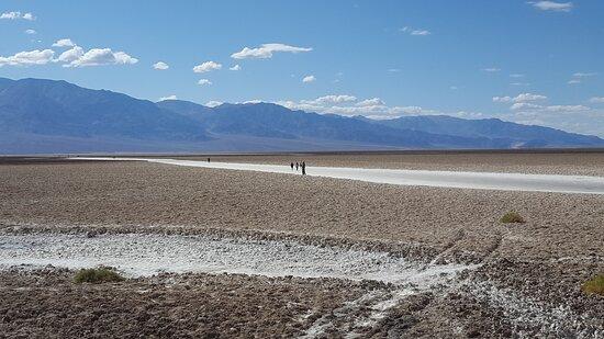 Death Valley National Park, CA: Salt Flats, Looking West