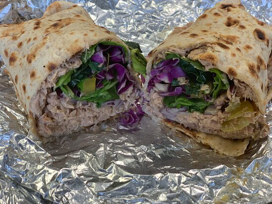 Enjoy Healthy Wraps for Lunch at Soup Up