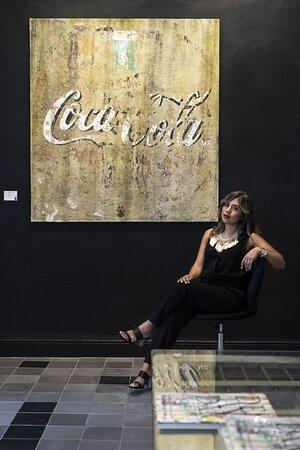 """Merida, Mexico: Directora Laura García no muestra la pieza """"Come Find Me"""" del artista Alfredo Romero"""