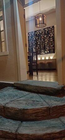 A porta de entrada do nosso Salão de Jantar, um espaço pensado no conforto, intimidade e sofisticação da nossa Villa!