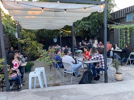 Lautaro, Chile: Beer Garden