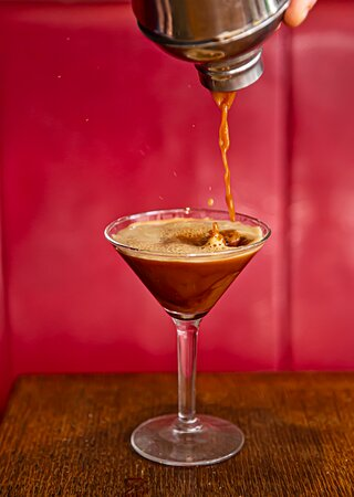 Espresso Martini Vodka, Kahlua, espresso
