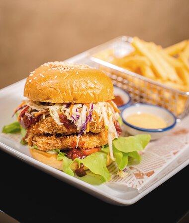 South Western Chicken Burger