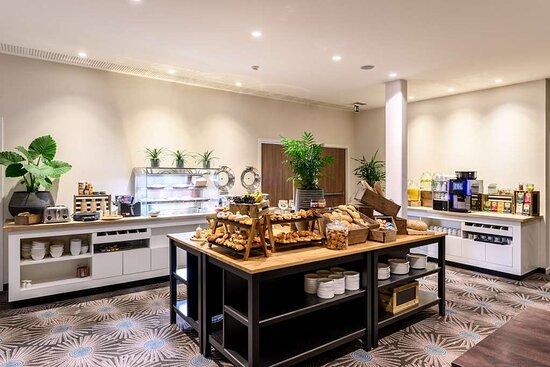 Delicious Breakfast Buffet in Leopold Hotel Oudenaarde