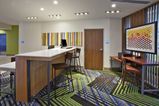 Business Center is available 24 hours at Holiday Inn Express