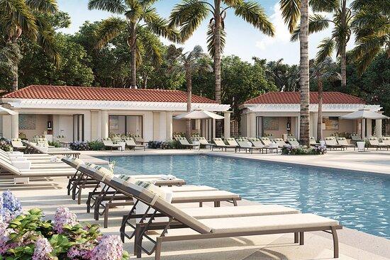 Pool Deck & Cabanas