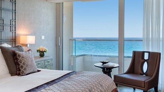 Deluxe Suite Bedroom View