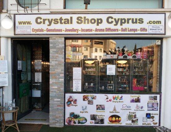 Crystal Shop Cyprus