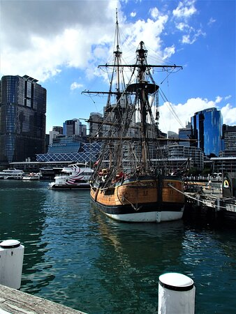 PAY VISIT TO HISTORICAL SHIP